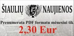 Šiaulių naujienos PDF
